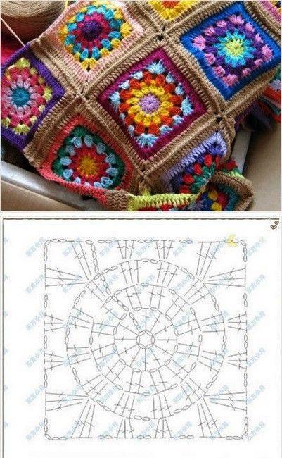 manta fantasia crochet-esquema-patron-otakulandia.es (1)