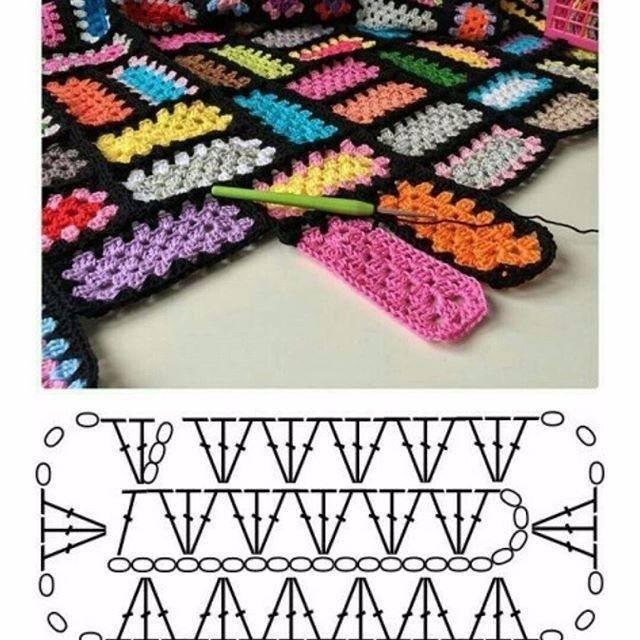 manta fantasia crochet-esquema-patron-otakulandia.es (2)