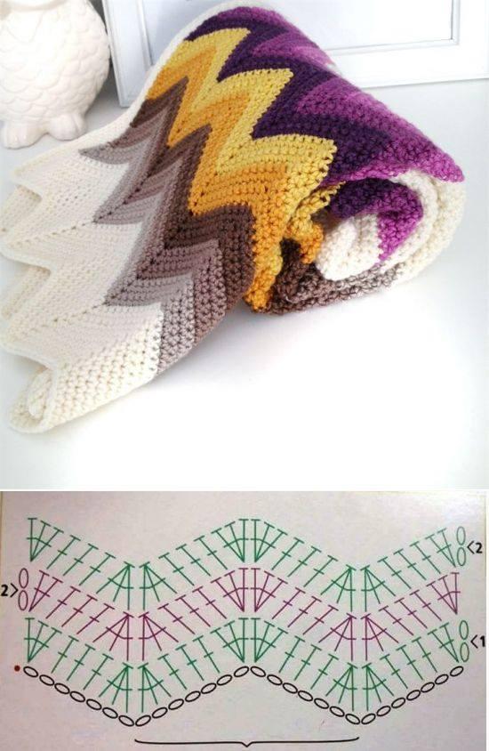 manta fantasia crochet-esquema-patron-otakulandia.es (3)