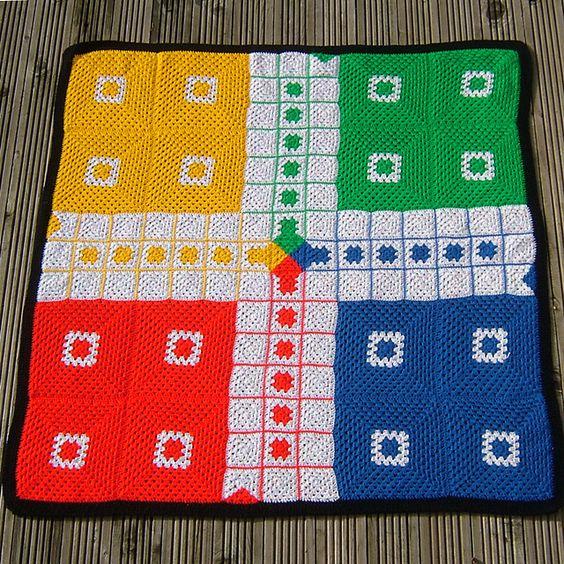 mantas tematicas-juegos mesa-crochet-otakulandia.es (1)