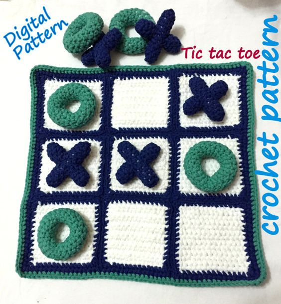 mantas tematicas-juegos mesa-crochet-otakulandia.es (11)