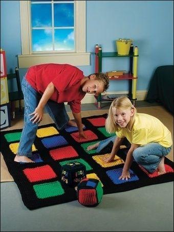 mantas tematicas-juegos mesa-crochet-otakulandia.es (6)