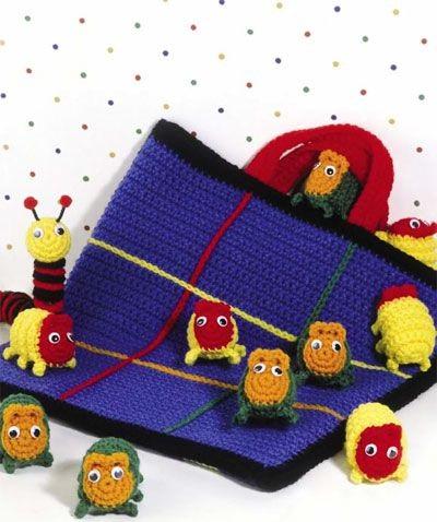 mantas tematicas-juegos mesa-crochet-otakulandia.es (9)