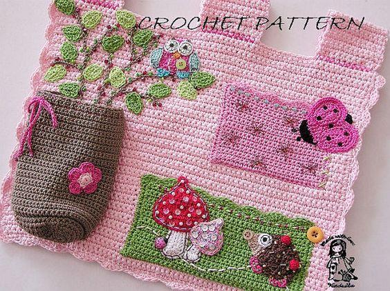 mantas tematicas-juegos mesa-crochet-otakulandia.es