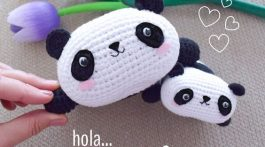 osos panda crochet-tutorial-otakulandia.es