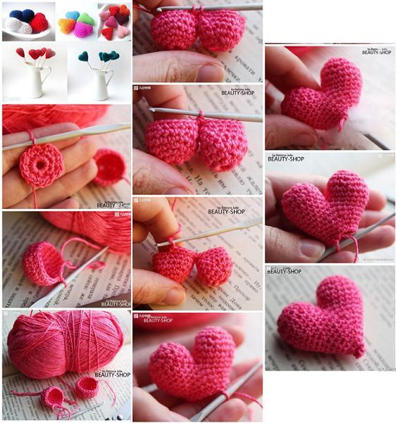 tutorial corazon crochet-otakulandia.es