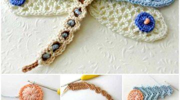 tutorial libelula crochet-otakulandia.es