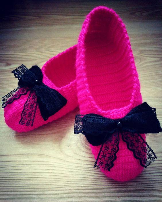 zapatillas senora crochet-otakulandia.es (2)