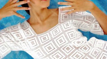 blusa blanca motivos geometricos-otakulandia.es