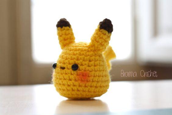 pokemons chibi crochet-otakulandia.es