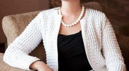 chaqueta elegante senora crochet-otakulandia.es (1)