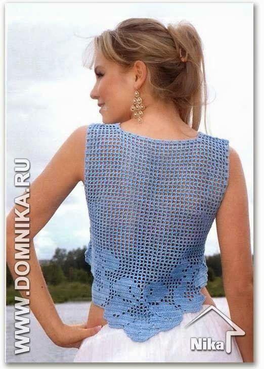 bolero azul pico crochet-otakulandia.es (2)