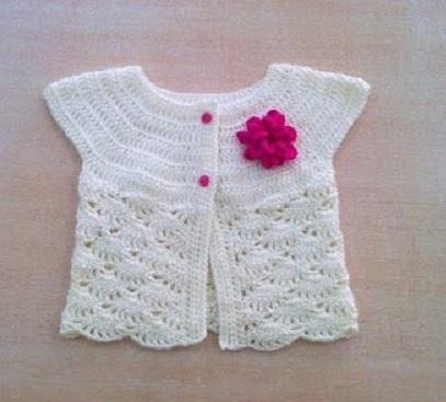 bolero-chaqueta bebe crochet-otakulandia.es (10)