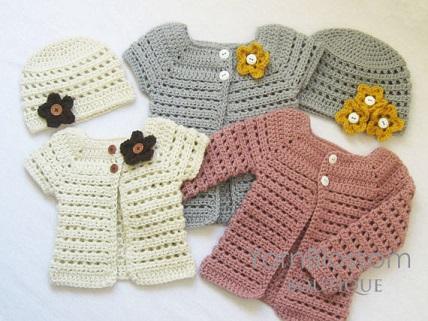 bolero-chaqueta bebe crochet-otakulandia.es (11)