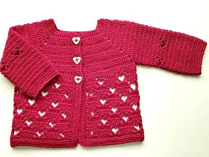 bolero-chaqueta bebe crochet-otakulandia.es (12)