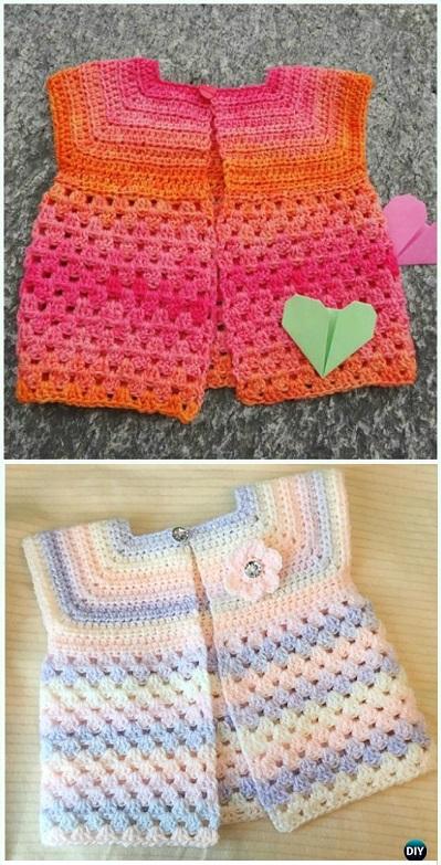 bolero-chaqueta bebe crochet-otakulandia.es (2)