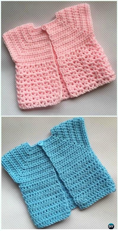 bolero-chaqueta bebe crochet-otakulandia.es (3)