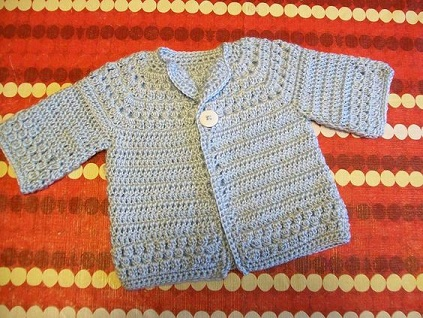bolero-chaqueta bebe crochet-otakulandia.es (5)