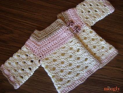 bolero-chaqueta bebe crochet-otakulandia.es (9)