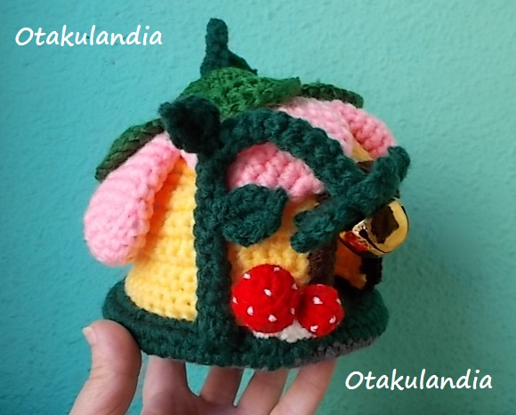 casa gnomo flor crochet-agapornis-otakulandia.es (2)