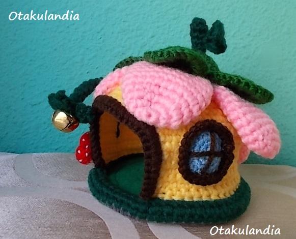casa gnomo flor crochet-agapornis-otakulandia.es (3)