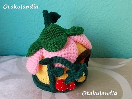 casa gnomo flor crochet-agapornis-otakulandia.es (4)