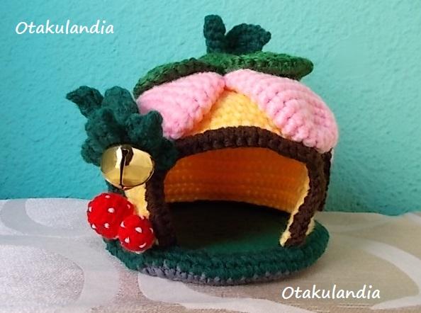 casa gnomo flor crochet-agapornis-otakulandia.es (8)