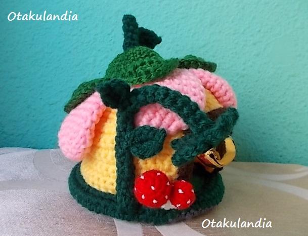 casa gnomo flor crochet-agapornis-otakulandia.es (9)