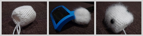 osito polar kawaii llavero crochet-otakulandia.es (2)