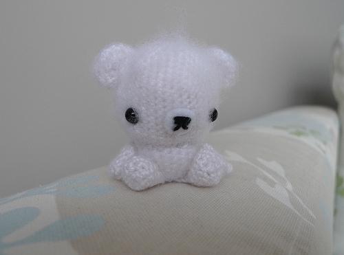 osito polar kawaii llavero crochet-otakulandia.es (3)
