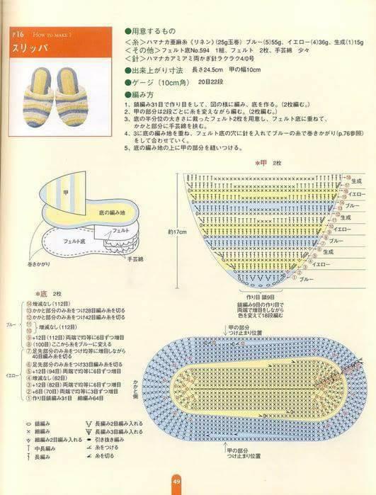 pantuflas chancla crochet-senora-otakulandia.es (2)