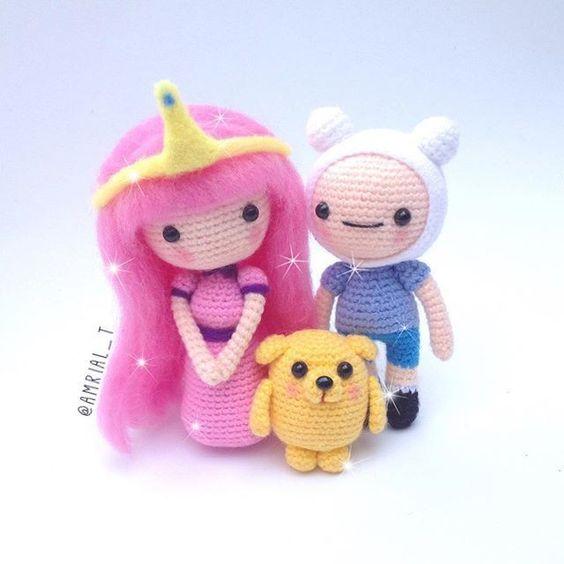 personajes comics chibi crochet-otakulandia.es