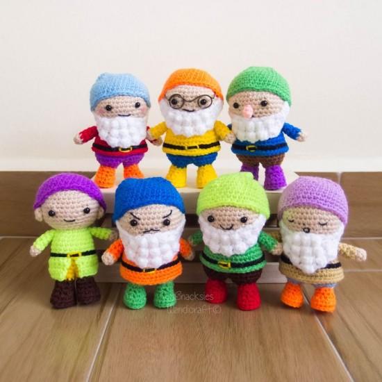 personajes disney chibi crochet-otakulandia.e (1)