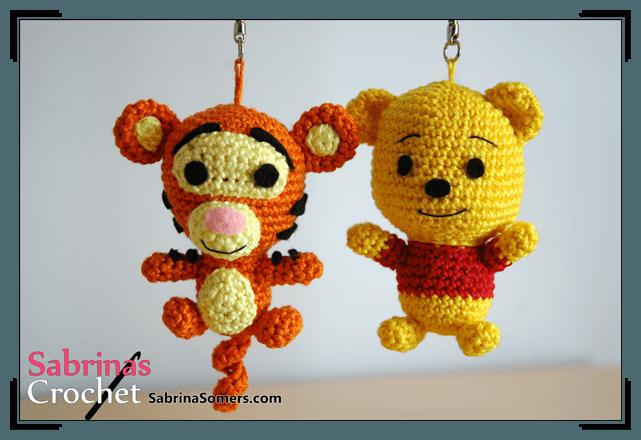 personajes disney chibi crochet-otakulandia.e