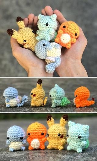 pokemons chibi crochet-otakulandia.es (1)