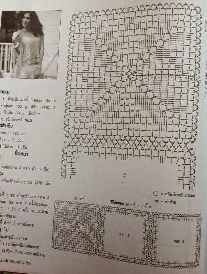 poncho azul flecos crochet-otakulandia.es (2)