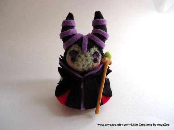 princesas disney chibi crochet-otakulandia.es (2)