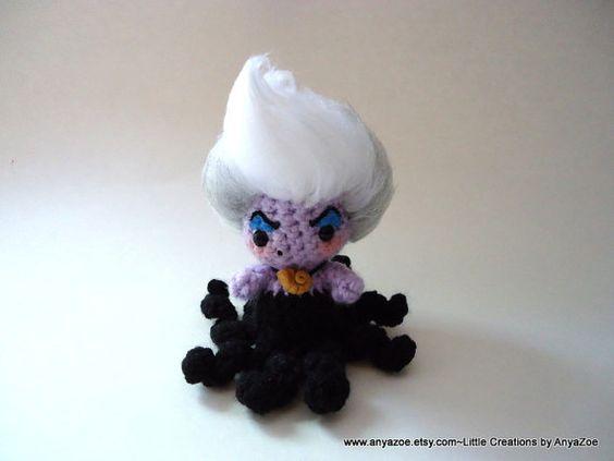 princesas disney chibi crochet-otakulandia.es (3)