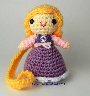 princesas disney chibi crochet-otakulandia.es (4)
