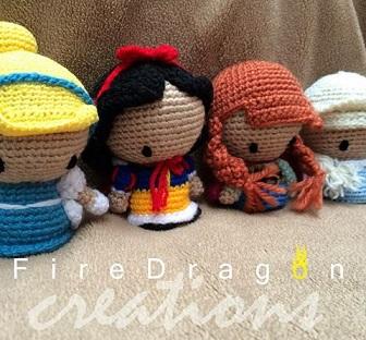 princesas disney chibi crochet-otakulandia.es (8)