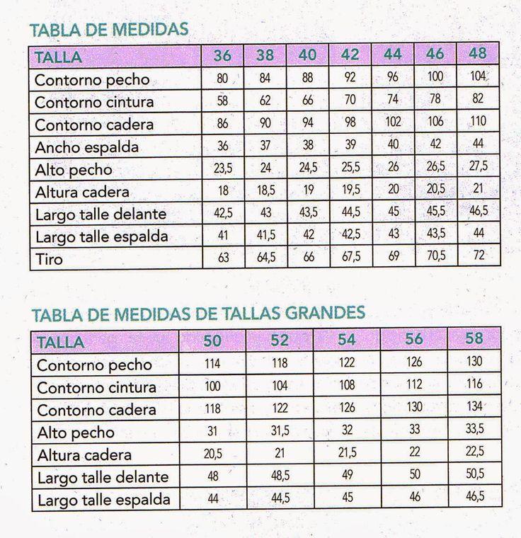 tabla medida senora y tallas grandes-otakulandia.es