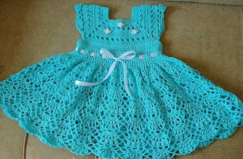 vestido bebe crochet-otakulandia.es (1)