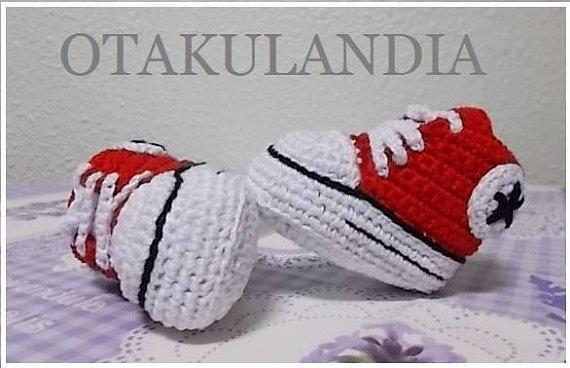 converses algodon 3-6 meses crochet-otakulandia.es (3)