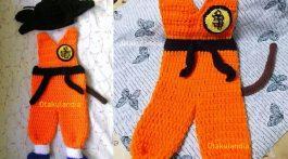 disfraz goku bebe crochet-otakulandia.es