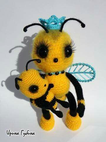 abeja amigurumi-otakulandia.es (1)
