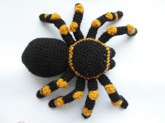 arana crochet amigurumi-otakulandia.es