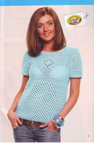 blusa azul patron crochet-otakulandia.es (3)