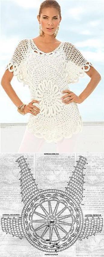 blusa calada crochet-otakulandia.es