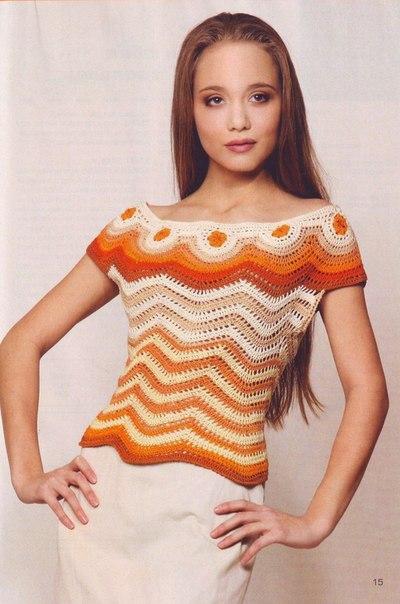 blusa naranja-amarilla-patron crochet-otakulandia.es (10)