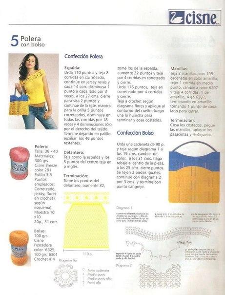 blusa naranja-amarilla-patron crochet-otakulandia.es (4)